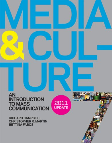 Media and Culture 7e with 2011 Update An Introduction to Mass Communication 7th edition cover