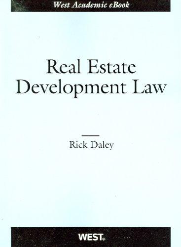 Real Estate Development Law   2011 edition cover
