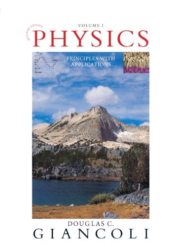 Physics Principles with Applications Volume I (Chapters 1-15) 7th 2014 9780321762429 Front Cover