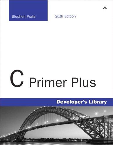 C Primer Plus  6th 2014 edition cover