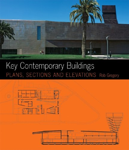 Key Contemporary Buildings Plans, Sections and Elevation  2008 edition cover