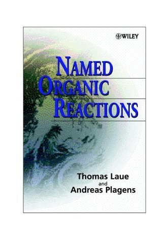 Named Organic Reactions   1998 edition cover