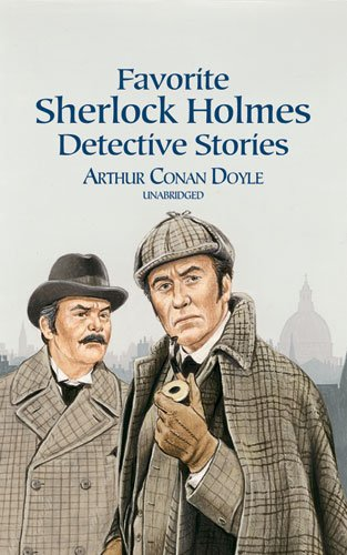 Favorite Sherlock Holmes Detective Stories   2000 (Unabridged) edition cover