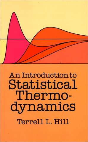 Introduction to Statistical Thermodynamics  Reprint  edition cover