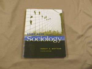 Sociology  9th 2004 (Student Manual, Study Guide, etc.) 9780534609429 Front Cover