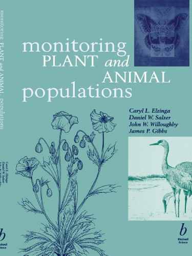Monitoring Plant and Animal Populations   2001 edition cover