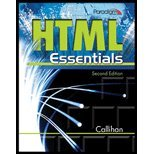 HTML Essentials Text 2nd 9780763836429 Front Cover