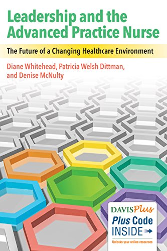Nurses Leading for the Future Participating in Changing Health Care Environment  2017 9780803640429 Front Cover