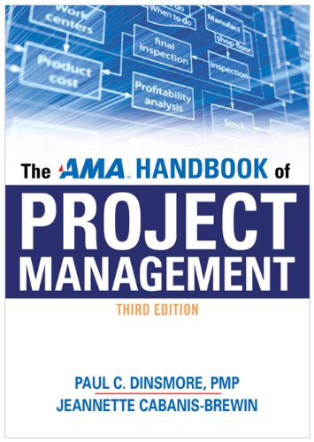 AMA Handbook of Project Management  3rd 2010 (Handbook (Instructor's)) edition cover