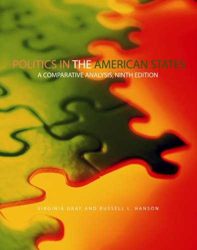 Politics in the American States A Comparative Analysis 9th 2006 (Revised) edition cover