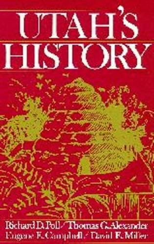 Utah's History   1989 (Revised) edition cover
