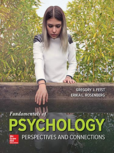 Looseleaf for Fundamentals of Psychology: Perspectives and Connections  N/A 9781260307429 Front Cover
