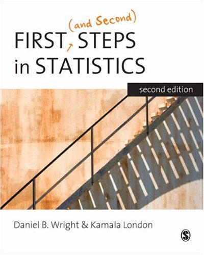 First (and Second) Steps in Statistics  2nd 2009 edition cover
