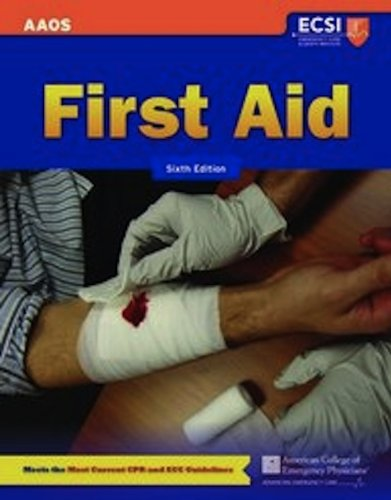 First Aid  6th 2012 edition cover
