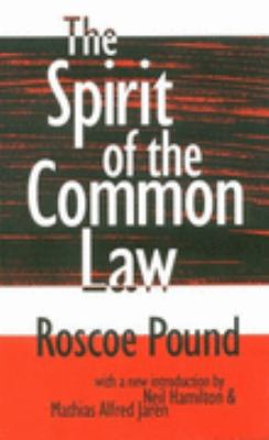 Spirit of the Common Law   1998 9781560009429 Front Cover