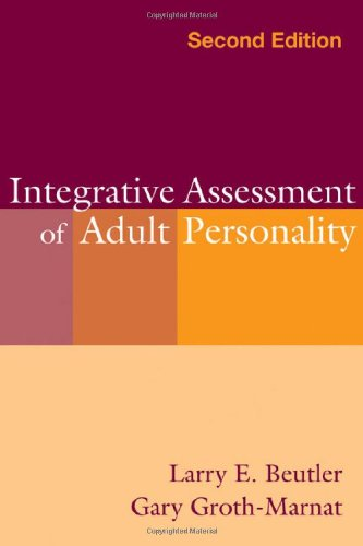 Integrative Assessment of Adult Personality  2nd 2003 (Revised) edition cover