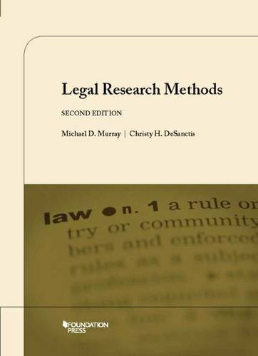 Legal Research Method:   2015 edition cover