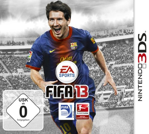 FIFA 13 Nintendo 3DS artwork