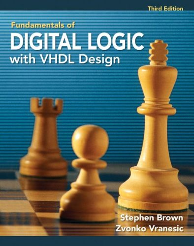 Fudamentals of Digital Logic with VHDL Design  3rd 2009 edition cover