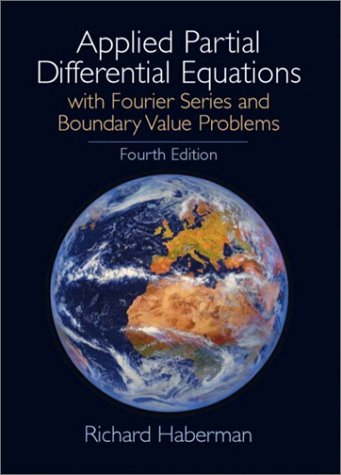 Applied Partial Differential Equations  4th 2004 (Revised) edition cover