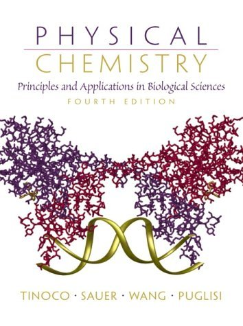 Physical Chemistry Principles and Applications in Biological Sciences 4th 2002 (Revised) edition cover