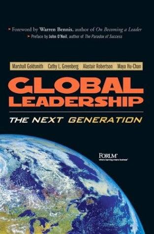 Global Leadership The Next Generation  2003 edition cover