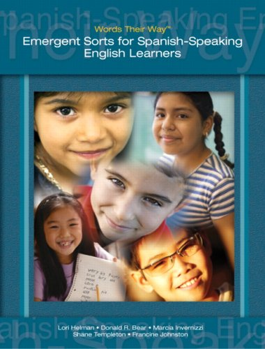 Words Their Way Emergent Sorts for Spanish-Speaking English Learners  2009 9780132421430 Front Cover