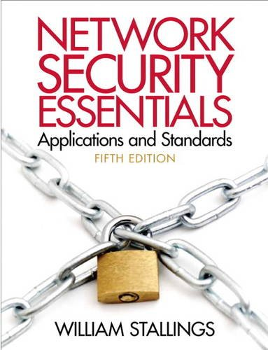 Network Security Essentials Applications and Standards  5th 2014 edition cover