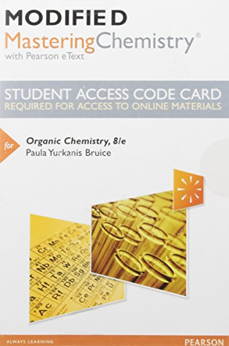 Organic Chemistry:   2016 9780134261430 Front Cover