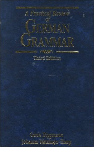 Practical Review of German Grammar  3rd 2000 (Revised) edition cover