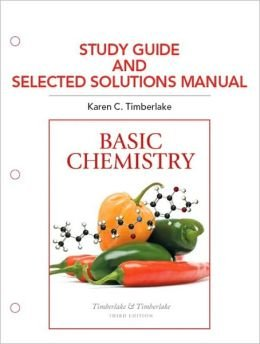 Study Guide and Selected Solutions Manual for Basic Chemistry  4th 2014 edition cover