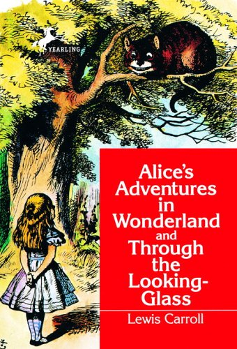 Alice in Wonderland and Through the Looking Glass   1992 edition cover