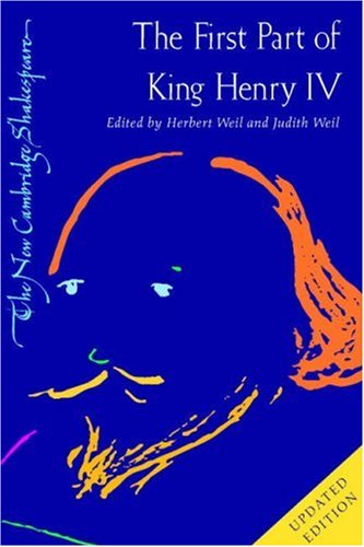 First Part of King Henry IV  2nd 2007 (Revised) edition cover