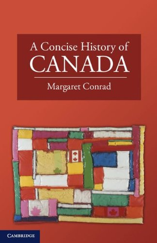 Concise History of Canada   2011 edition cover