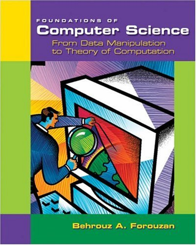 Foundations of Computer Science From Data Manipulation to Theory of Computation  2002 edition cover