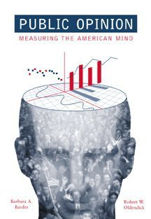 Public Opinion Measuring the American Mind  1999 9780534560430 Front Cover