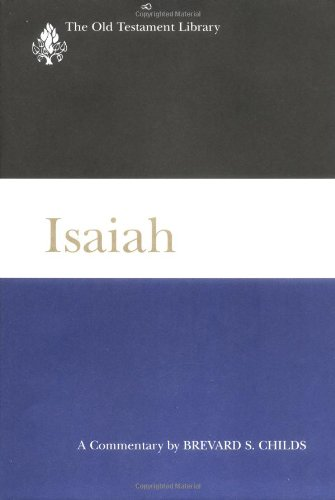 Isaiah A Commentary  2001 edition cover