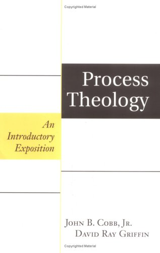 Process Theology An Introductory Exposition  1976 edition cover