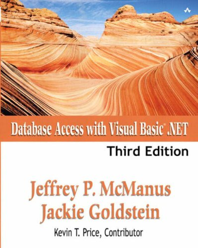 Database Access with Visual Basic.NET  3rd 2003 (Revised) 9780672323430 Front Cover