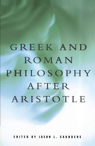 Greek and Roman Philosophy after Aristotle   1997 edition cover