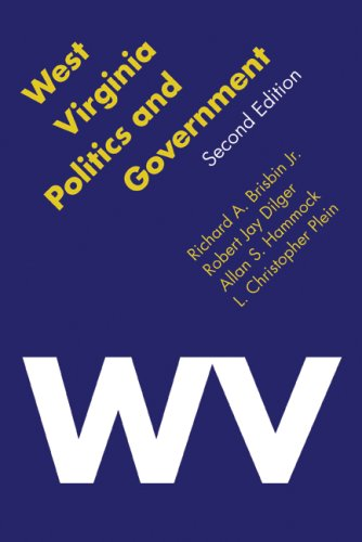 West Virginia Politics and Government  2nd 2008 edition cover