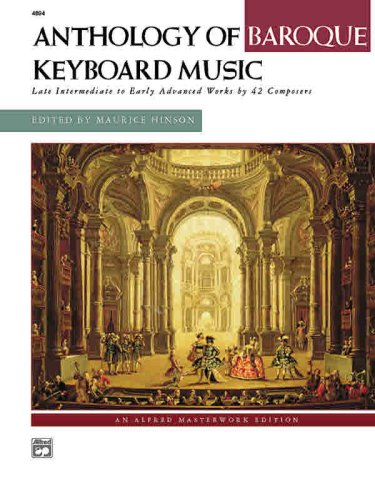 Anthology of Baroque Keyboard Music   1998 edition cover