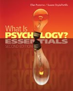 Cengage Advantage Books: What Is Psychology? Essentials 2nd 2013 edition cover