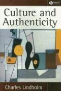 Culture and Authenticity   2008 edition cover