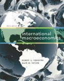 International Macroeconomics:   2014 edition cover