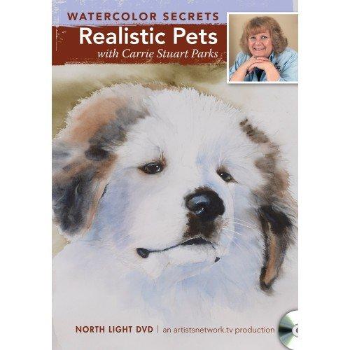 Watercolor Secrets: Realistic Pets  2012 edition cover
