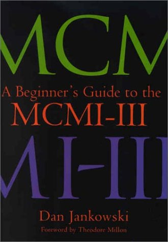 Beginner's Guide to the MCMI-III   2002 edition cover
