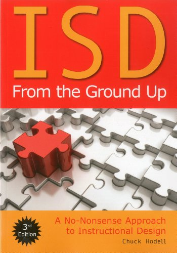 ISD from the Ground Up A No-Nonsense Approcah to Instructional Design 3rd edition cover