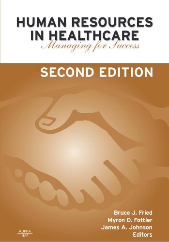 Human Resources in Healthcare Managing for Success 2nd 2005 edition cover