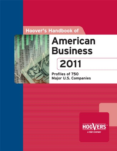 Hoover's Handbook of American Business 2011 N/A 9781573111430 Front Cover